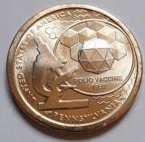Monedă 1 Dollar 2019 USA, Pennsylvania, Polio Vaccine, American Innovation, unc, America de Nord