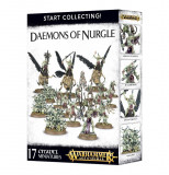 Set Miniaturi Warhammer AOS, Start Collecting! Daemons of Nurgle