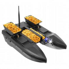 Barca pentru nadit reincarcabila, capacitate 2000 grame, control telecomanda, raza actiune 500m