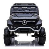 Masinuta electrica Mercedes UNIMOG 4x4 PREMIUM Negru
