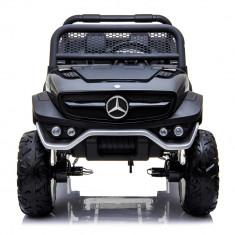 Masinuta electrica Mercedes UNIMOG 4x4 PREMIUM Negru foto