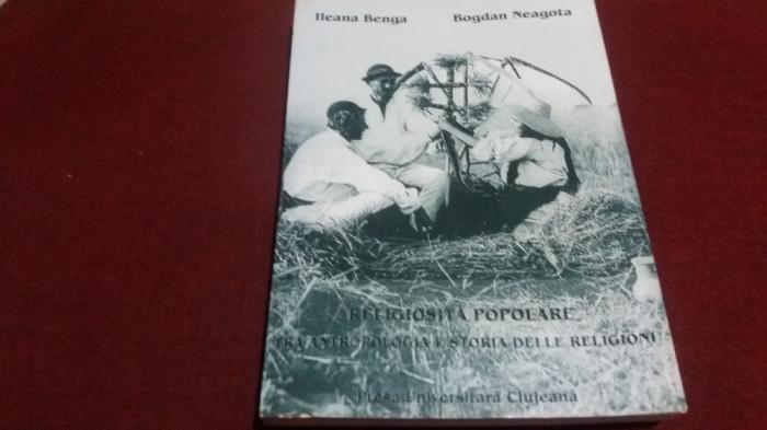 ILEANA BENGA - RELIGIOSITA POPOLARE TRA ANTROPOLOGIA E STORIA DELLE RELIGIONI