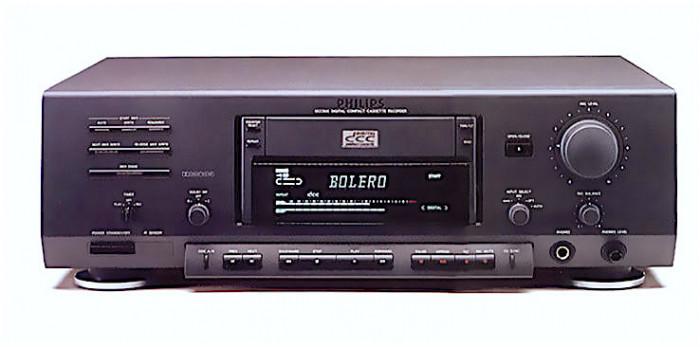 Philips DCC 900 cu telecomanda originala