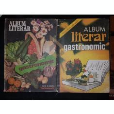 STOICA OCTAVIAN si VULPE MARIUS, ALBUM LITERAR GASTRONOMIC, 1982-1983 (Doua Volume), Bucuresti