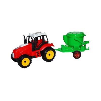 Tractor cu utilaj foto