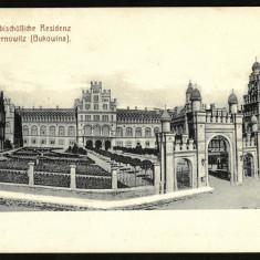Carte Postala Veche Necirculata 1900 BUKOWINA Bucovina Cernauti Czernowitz, Fotografie