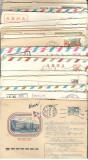 U.R.S.S.Lot  50 buc. scrisori intreguri postale circulate  FL.130
