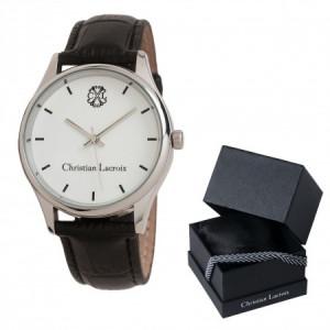 Ceas Christian Lacroix, Pix Treillis Desk Christian Lacroix si Butoni Azure Clock by Borealy