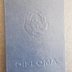 Pentru colectionari,  Diploma Doctorat Ministerul Invatamantului 1961