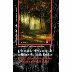 Cele mai celebre cazuri de vrajitorie din Tarile Romane. Marturii uluitoare despre ocultism, satanism si practici pagane/Dan-Silviu Boerescu