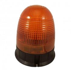Girofar galben LED cu prindere in 3 puncte 12-24V