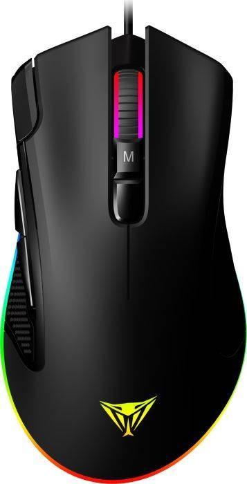 Mouse Gaming Patriot Viper V551 RGB Black