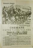 Vaida-Voievod:AFIS AL FRONTULUI ROMANESC condus de omul politic Al.Vaida-Voievod