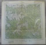 Rucarul// harta Serviciul Geografic Armatei 1916