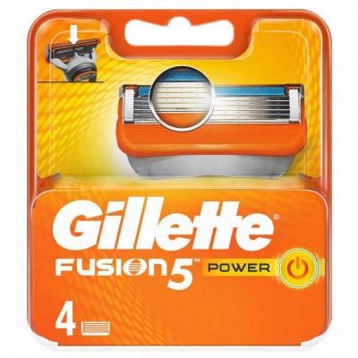 Set 4 rezerve pentru aparat de ras Gillette Fusion Power foto
