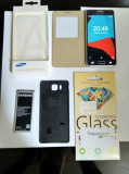 Samsung Galaxy Alpha, Octa-core, Super AMOLED, 2GB RAM, 32GB, 12MP, Wi-Fi ac, 4G, Negru, Neblocat, Octa core