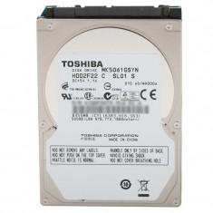 Hard disk 500GB Laptop, Notebook, Toshiba MK5061GSYN, SATA II, Buffer 16MB,...