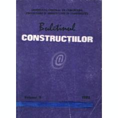 Buletinul constructiilor, vol. 9 (1988)