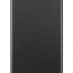 Husa tip carte Huawei 51992945 neagra pentru Huawei Y6 (2019) / Honor 8A