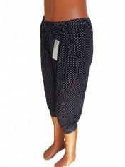 Pantaloni trei sferturi cu buzunare cod 4021 foto