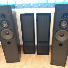 Boxe, incinte, coloane 3 cai, bass-reflex, Germania, 200 W reali