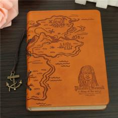 Jurnal / Caietel / Notebook - Vintage Model Pirati