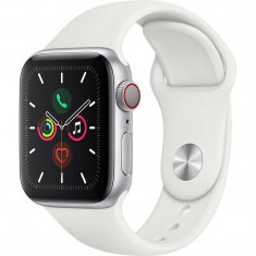 Smartwatch Apple Watch Series 5 GPS Cellular 40mm Silver Aluminium Case White Sport Band S/M & M/L