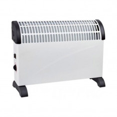 Convector electric de podea/perete Blade, 2000 W, 3 trepte putere, functie turbo, ventilator, Alb