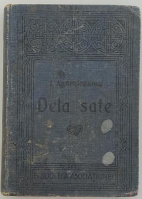 Ioan Agarbiceanu - Dela sate - prima editie - coperta originala 1914 foto