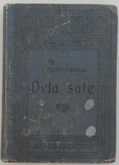 Ioan Agarbiceanu - Dela sate - prima editie - coperta originala 1914