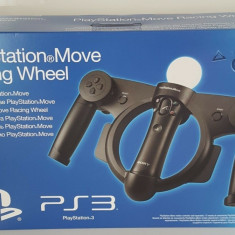 Volan / Ghidon Moto Sony PlayStation Racing Wheel Move original nou in cutie