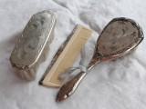 Argint PIAPTAN si PERII 2 set la cutie CADOU BOTEZ SPLENDID superb, Ornamentale