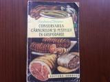 conservarea carnurilor si pestelui in gospodarie ecaterina teisanu ed II a 1963