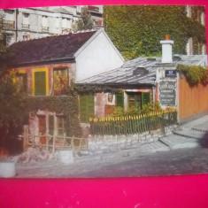 HOPCT 44774  CABARETUL IEPURELE IUTE  -MONTMARTRE PARIS FRANTA-NECIRCULATA, Printata