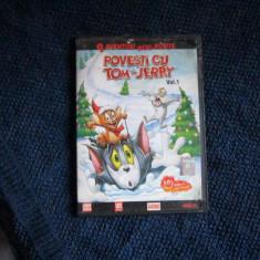 dvd povesti cu tom si jerry vol 1
