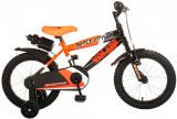 Bicicleta pentru baieti Volare Sportivo, 16 inch, culoare portocaliu neon / negrPB Cod:2062