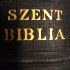 SZENT BIBLIA 1934