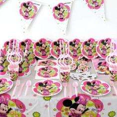 Set decoratiuni petrecere tematica Minnie Mouse