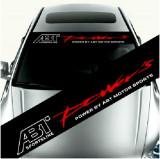 Sticker parasolar auto ABT (126 x 16cm) ManiaStiker, AutoLux