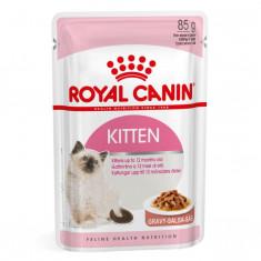 Hrana umeda pentru pisici Royal Canin, Kitten Instinctive, 85g