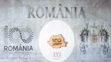 Magnet 100 de ani Romania Centenar