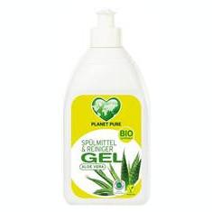 Detergent Gel pentru Vase cu Aloe Vera Bio 500 mililitri Planet Pure Cod: 9120001460199