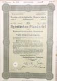 100 Reichsmark titlu de stat Germania 1940