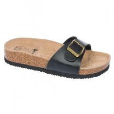 Papuc dama de culoare negru