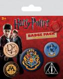 Set insigne - Harry Potter - Hogwarts | Pyramid International