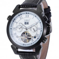 Ceas Barbati, JARAGAR, Automatic-Mecanic, Afisaj Analog, model FLJAR1005
