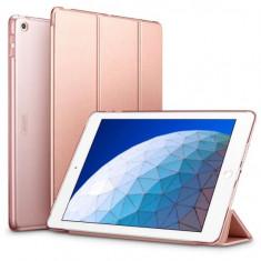 "Husa de Protectie ESR Yippee pentru Apple iPad Air 3 105"" 2019 Functii Stand&Smart Sleep Rose Gold"