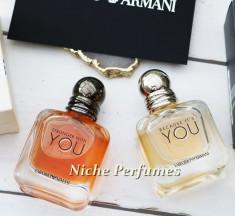 Parfum Original Set Emporio Armani Because It's You si Stronger With You foto