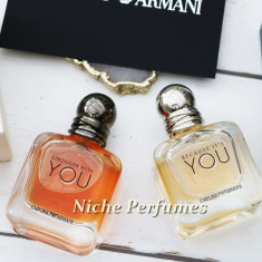 Parfum Original Set Emporio Armani Because It's You si Stronger With You