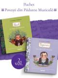 Pachet Povești din Pădurea Muzicală 2 vol.